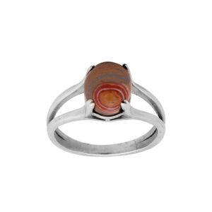 انگشتر نقره زنانه کد 2RZ019