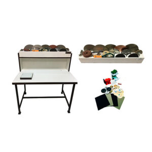 دستگاه تراش فانتزی آرگو به همراه میز و جعبه رومیزی آرگو